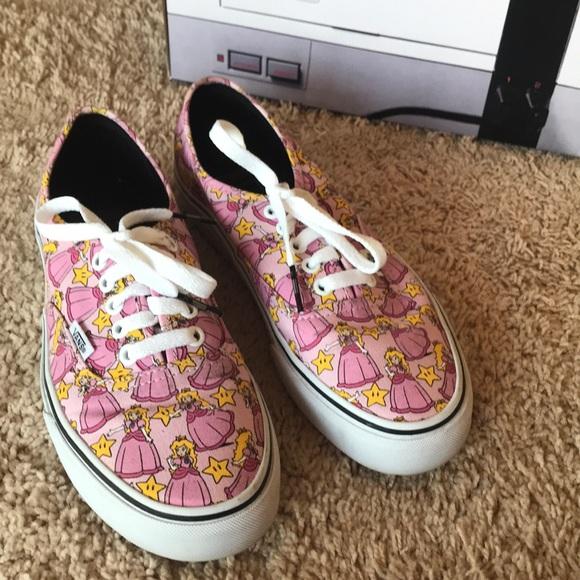 d32a1df642 Vans Shoes - Vans x Nintendo Authentic - Princess Peach
